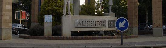 Alberton monument